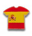 Ecusson maillot Espagne adhésif