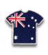 Ecusson maillot Australie adhésif