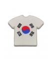 Ecusson maillot Corée du Nord adhésif