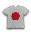 Ecusson maillot Japon adhésif