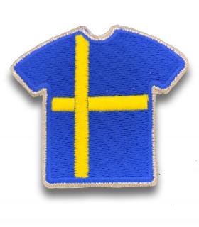 Ecusson maillot Suède adhésif