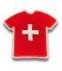 Ecusson maillot Suisse adhésif