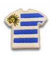 Ecusson maillot Uruguay adhésif
