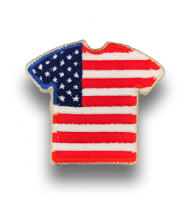 Ecusson maillot USA Etats-unies adhésif