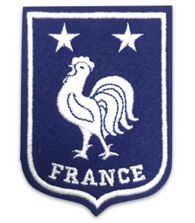Ecusson équipe de FRANCE COQ  2 étoiles