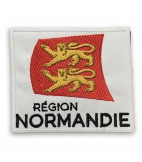 écusson brodé région Normandie