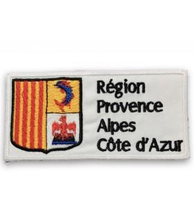 écusson brodé région Provence Alpes Côte d'Azur