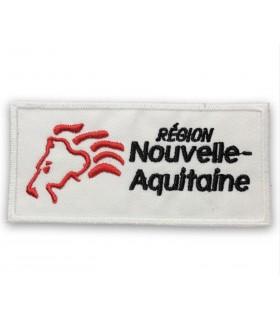 écusson brodé région Nouvelle Aquitaine