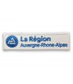 écusson brodé région Auvergne Rhone Alpes