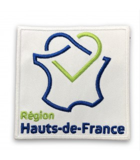 écusson brodé région Hauts-de-France