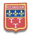 Ecusson brodé Ville ROCAMADOUR