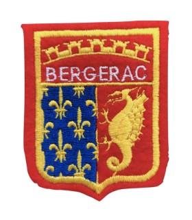 Ecusson brodé Ville BERGERAC