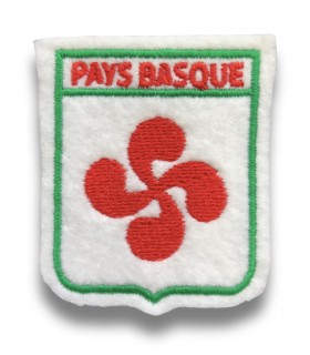Ecusson brodé PAYS BASQUE