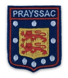 Ecusson brodé Ville PRAYSSAC