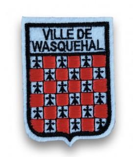 Ecusson brodé Ville WASQUEHAL