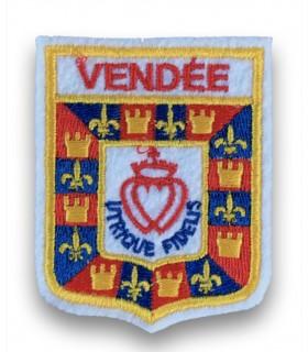 Ecusson brodé Ville région Vendée