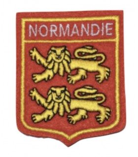 Ecusson brodé NORMANDIE
