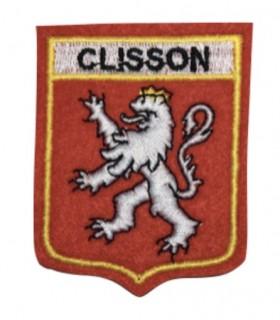 Ecusson brodé Ville de CLISSON