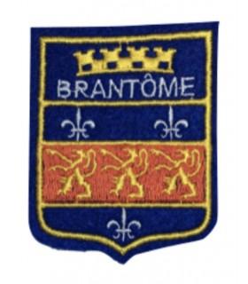 Ecusson brodé Ville de BRANTOME