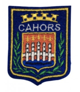 Ecusson brodé Ville de CAHORS