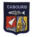 Ecusson brodé Ville de CABOURG