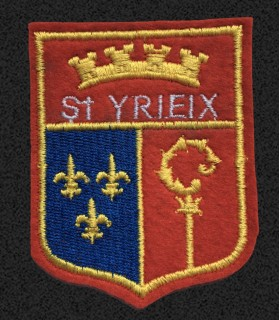 Ecusson brodé Ville de SAINT YRIEUX