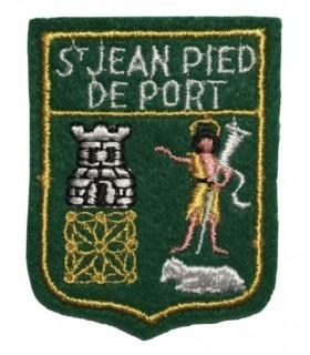 Ecusson brodé Ville de ST JEAN PIED DE PORC