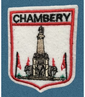 Ecusson brodé Ville de CHAMBERY
