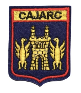 Ecusson brodé Ville de CAJARC