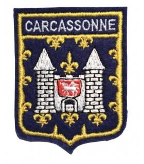 Ecusson brodé Ville de CARCASSONNE