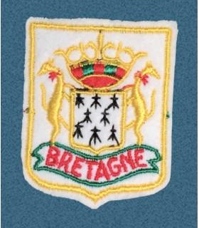 Ecusson brodé de la Région de la BRETAGNE