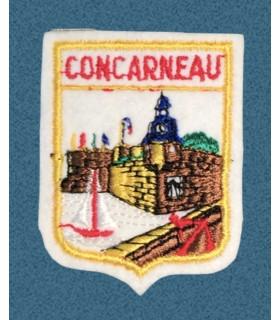Ecusson brodé de le Ville de CONCARNEAU