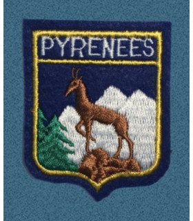 Ecusson brodé de le Région des PYRENEES