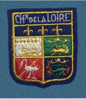 Ecusson brodé CHATEAUX DE LA LOIRE