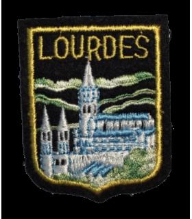 Ecusson brodé Ville de LOURDES