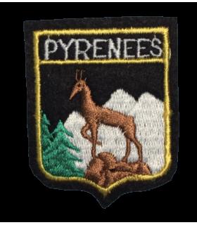 Ecusson brodé Région de pyrenees