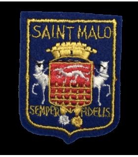 Ecusson brodé Ville de SAINT MALO