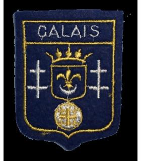 Ecusson brodé Ville de Calais