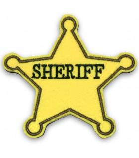 ÉCUSSON THERMOCOLLANT ETOILE SHERIFF