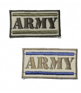 ÉCUSSON THERMOCOLLANT BARRETTE ARMY