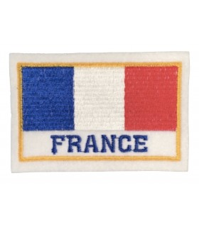 Ecusson brodé FRANCE Rectangle