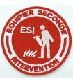 Ecusson ESI Equipier Seconde Intervention