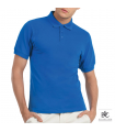 polo b&c homme SAFRAN + Broderie