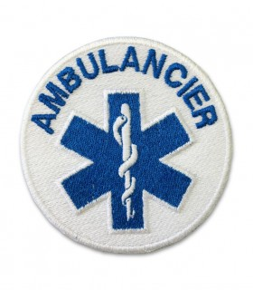Ecusson CROIX DE VIE AMBULANCIER