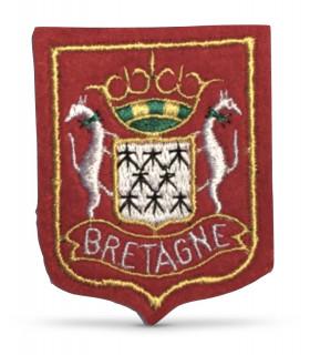 Ecusson brodé Région de BRETAGNE