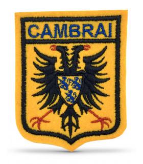 écusson brodé ville de Cambrai 59400