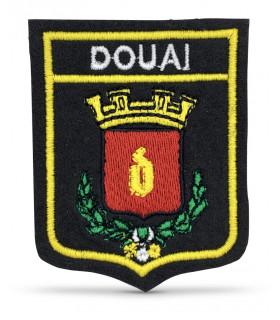 Ecusson brodé Ville DOUAI 59500