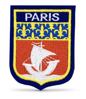 écusson brodé ville de paris 75000