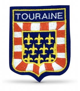 Ecusson brodé Région de TOURAINE