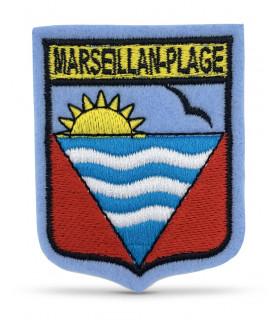 Ecusson Ville MARSEILLAN PLAGE